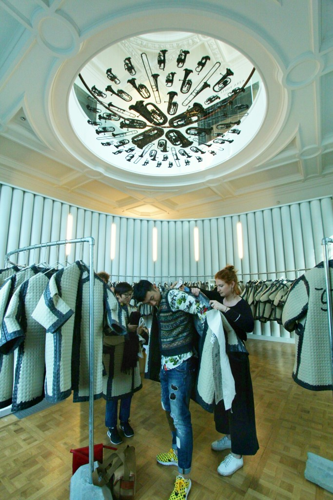 The Cloakroom in V&A museum